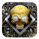 Gold shine skull keyboard by Bestheme Pink shining album collection