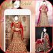 Indian Bridal Wedding Dress Photo Frame Editor
