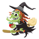 Witch Halloween Puzzle by zap studios