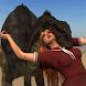 Dinosaur and Schoolgirl Puzzle by Kradu
