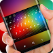 Neon Rainbow Color Keyboard Colorful Light by Sexy Theme Design for Smart Phone