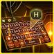 alien gold light keyboard biochemistry amber by Keyboard Creative Park