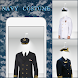 Navy Photo Suit Editor by Picapps