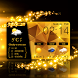 Glitter Gold Live Weather HD by Weather Widget Theme Dev Team