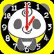 Panda Analog Clocks Widget by peso.apps.pub.arts