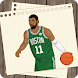 How to draw : NBA Live Basketball