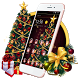 Enlightening Christmas Tree Theme by stylish android themes