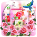 Pink Rose Flower Love Launcher by Cool Launcher Theme