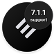 Swift Black Substratum Theme by Per Lycke