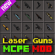 Laser Guns free Minecraft Mod by Gq mods studio