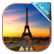 Eiffel Tower in Paris Keyboard by live wallpaper collection