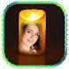 Beautiful Candle Photo Frame by Apps Ground