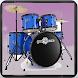 Drums Set with Drum Sticks - Play Rock Jam Tracks
