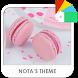 Macarons Xperia Theme by Nota Dao