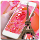 Rose Eiffel Input Method by Theme and live wallpaper design team