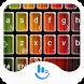 Gradient Stripe Emoji Keyboard by TouchPal HK