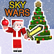 The Christmas SkyWars Map for Minecraft