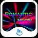 Romantic Neon Keyboard Theme by Sexy Apple