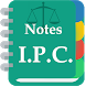 Indian Penal Code Notes by Chamber of Advocates