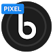 Delux UX Black - Pixel - S8 Icon Pack by Eatos Apps