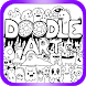 Doodle Coloring Book 2018 - Creative Art by Trixie Pixie Inc.