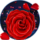 Red Rose Keyboard Theme by Keyboard Design Yimo
