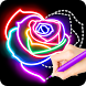 Learn To Draw Glow Flower by ColorJoy