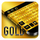 Gold Keyboard by Cool Theme Studio