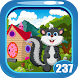 Cute Skunk Rescue Game Kavi - 237 by Kavi Games