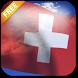 3D Swiss Flag Live Wallpaper by App4Joy