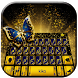 Glitter Butterfly Keyboard Theme by Fancy Theme for Android keyboard