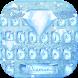 Blue diamond Keyboard Theme by NeoStorm We Heart it Studio