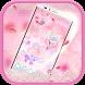 Pink Flower Love theme by Utone Theme