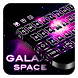 Galaxy Space Keyboard by Cool Theme Studio