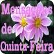 Mensagens de Quinta Feira by Violet Spaw Apps