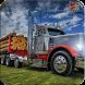 Jungle Wood Cargo Truck: Hill City Transporter