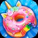 Unicorn Rainbow Donut - Sweet Desserts Bakery Chef by Crazy Camp Media
