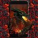 Hell Fire Dragon Dark Theme by Cool Wallpaper
