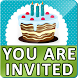Birthday Invitation Card Maker by SendGroupSMS.com Bulk SMS Software
