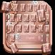 rose gold watch keyboard diamond by Super Keyboard Theme
