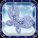 Purple Diamond Butterfly theme by Utone Theme
