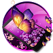 Scintillating Butterfly Theme by stylish android themes