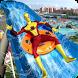 Super Hero Water Slide: Water Park Adventure Game by Vinegar Games