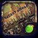 Secret World Go Keyboard Theme by Keyboard Fashion New