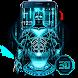 3D Neon Bat Hero Theme by 3D Theme 2018