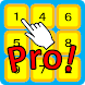 Touch numbers in Order Pro!