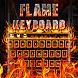 Flame Keyboard Theme by Keyboard Dreamer