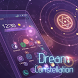 Neon Constellation Purple Theme by Cool Wallpaper