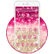 Salmon dazzle Rosa pink Theme by Stylish Android Themes