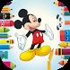Cartoon Mickey Drawing Books by veera ton